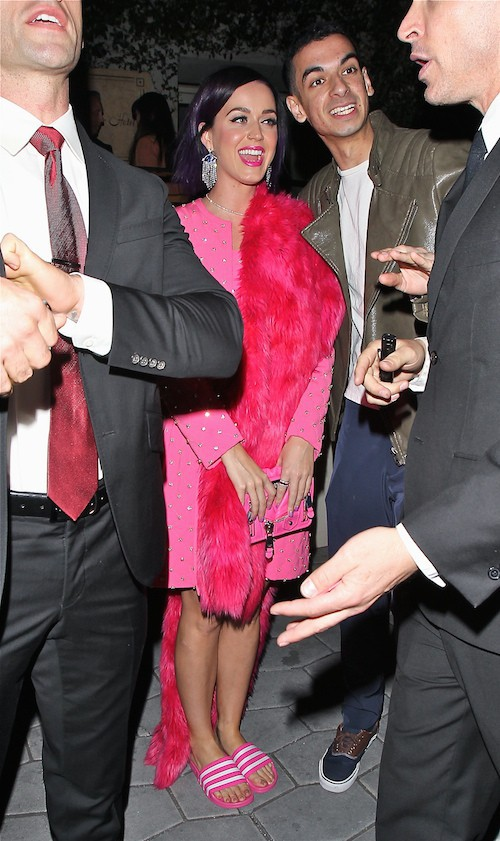 Katy Perry lors des Fashion Los Angeles Awards le 22 janvier 2015 !