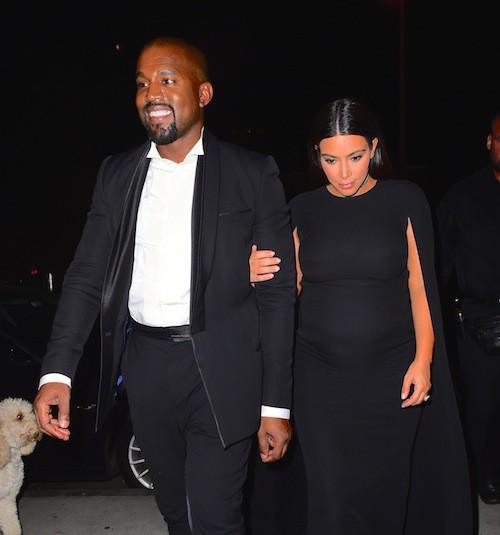 Photos : Kanye West heureux : Kim Kardashian ne filmera pas la naissance de leur fils !