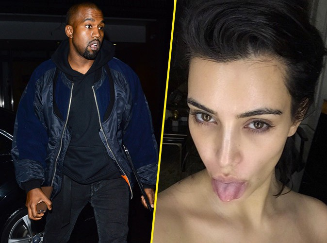 Photos : Kanye West : il dévoile le titre de son nouvel album, Kim pose topless au naturel !