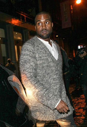 Kanye West à New-York le 26 novembre 2013