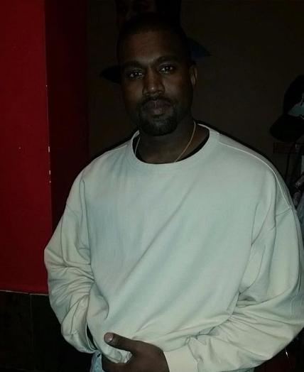 Kanye West au concert de Drake ce mercredi 27 juillet