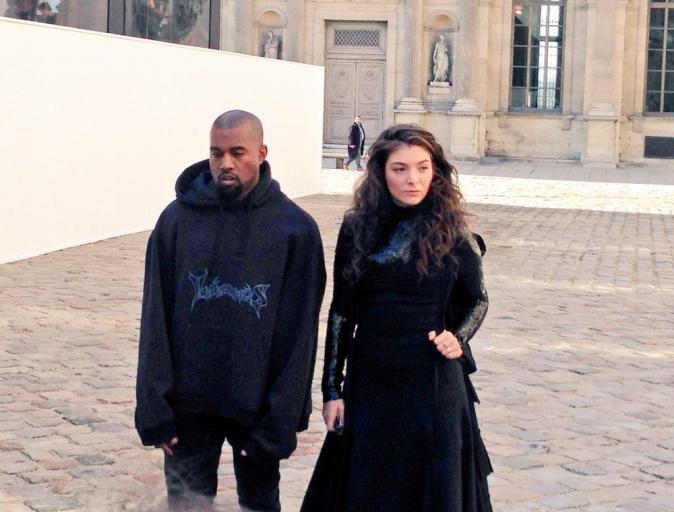 Photos : Kanye West : au côté de Lorde chez Dior... avant de donner 4 concerts surprise à Paris !