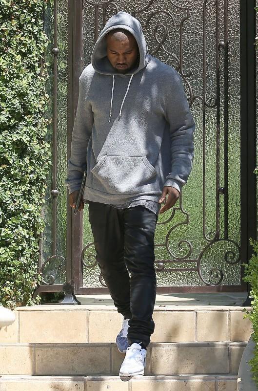 Kanye West, Beverly Hills, 11 mai 2013.