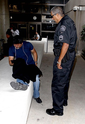 Le paparazzi blessé à l'aéroport de Los Angeles le 19 juillet 2013