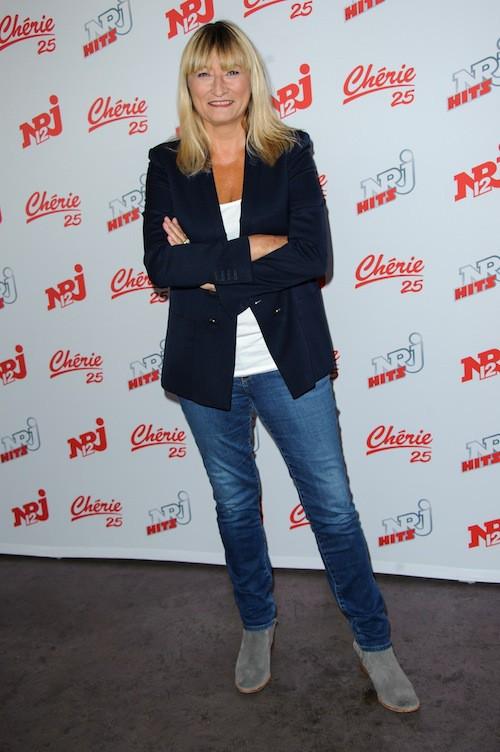 Christine Bravo chez NRJ 12, le 27 août 2015