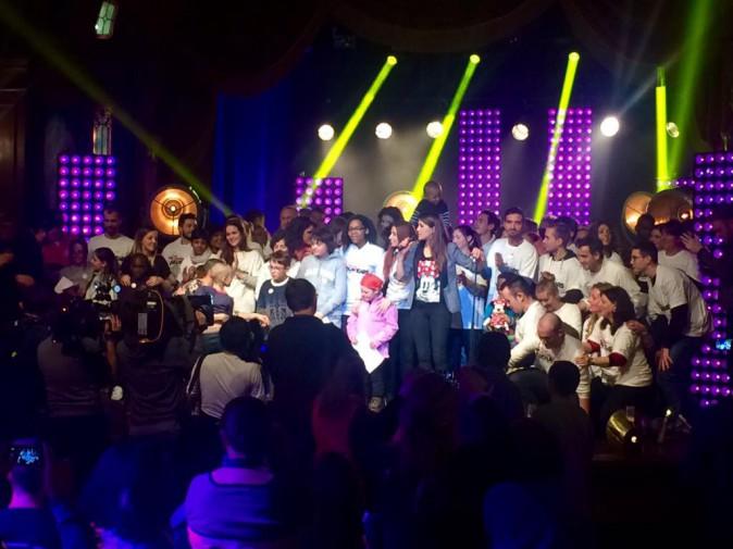 """Photos : Karine Ferri, Awa Sy, Hiba Tawaji... La famille """"The Voice"""" réunie à Disney pour la bonne cause !"""