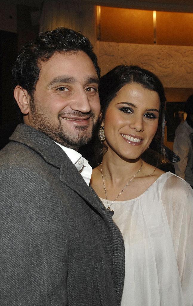 Karine Ferri et Cyril Hanouna en 2008