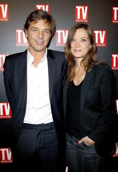 Guy Lagache et sa femme