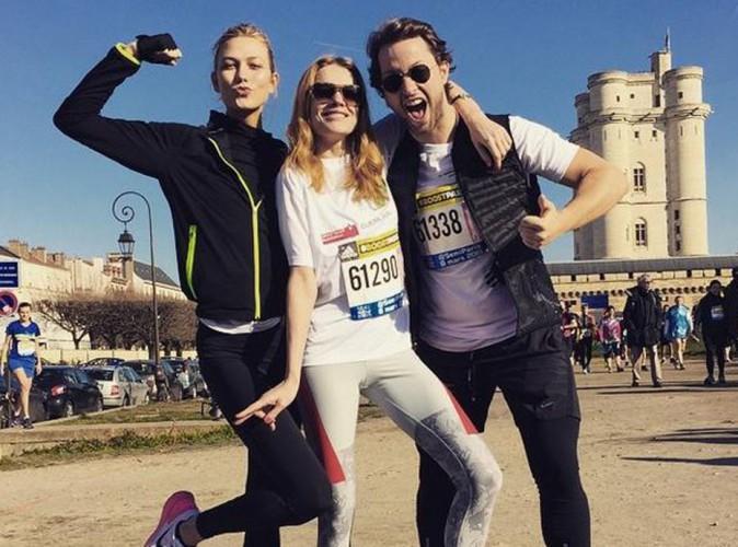 Karlie Kloss et Natalia Vodianova au semi-marathon de Paris : Who run the World ? Girls !