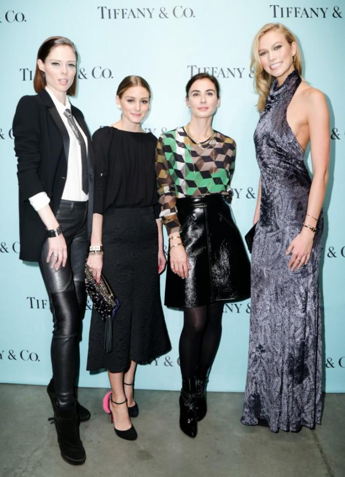 Karlie Kloss, Olivia Palermo, Coco Rocha et Francesca Amfitheatrof le 6 novembre 2014