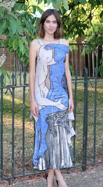 Alexa Chung le 2 juillet 2015
