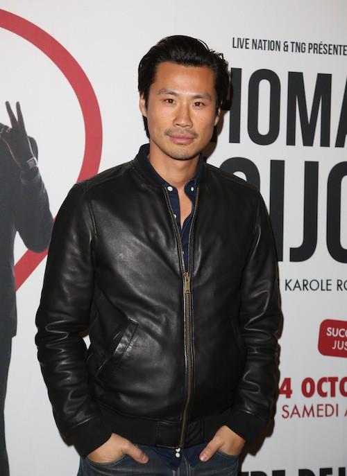 Frédéric Chau au spectacle de Thomas Ngijol à Paris le 27 octobre 2014