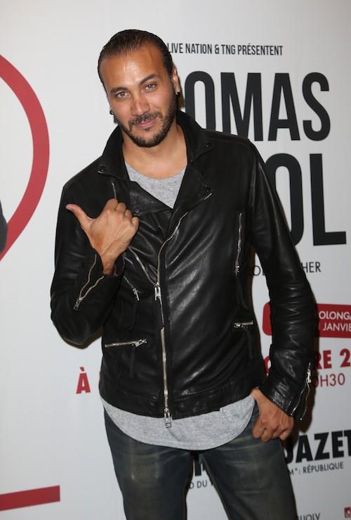 Merwan Rim au spectacle de Thomas Ngijol à Paris le 27 octobre 2014