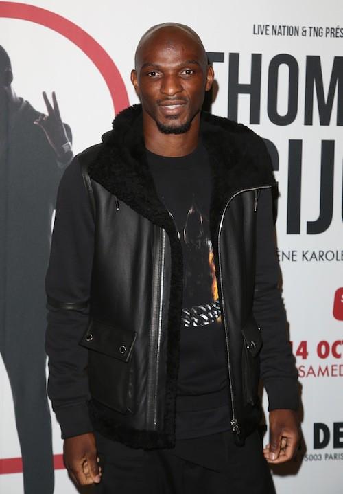 Zoumana Camara au spectacle de Thomas Ngijol à Paris le 27 octobre 2014