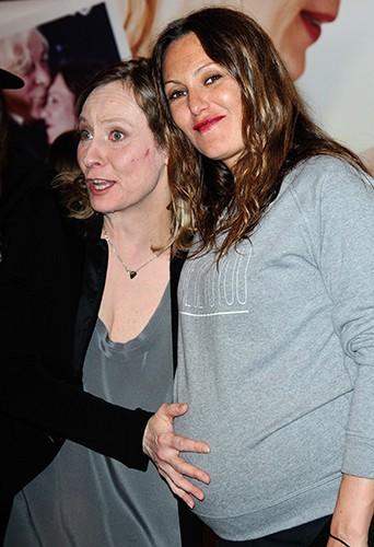 Cécile Telerman et Karole Rocher à Paris le 31 mars 2014