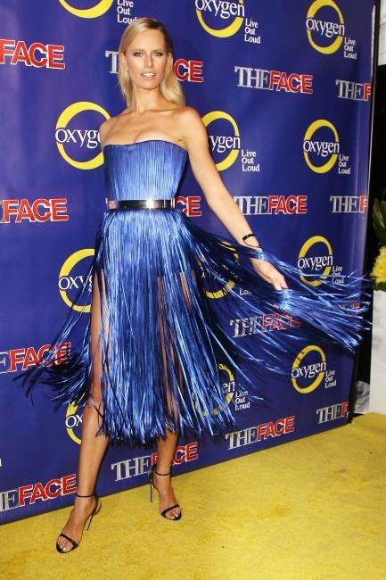 Karolina Kurkova lors de la première de The Face à New York, le 5 février 2013.