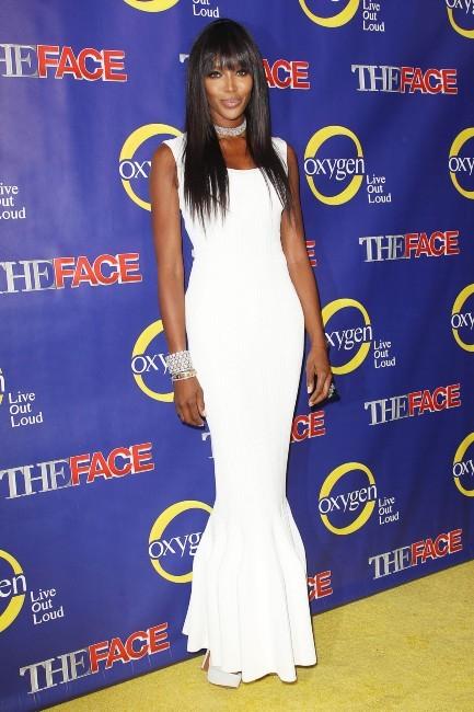 Naomi Campbell lors de la première de The Face à New York, le 5 février 2013.