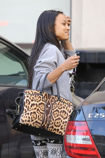 Karrueche Tran, Hollywood, 8 février 2013