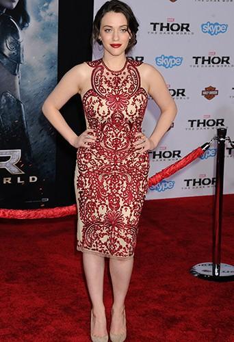 Kat Dennings à Los Angeles le 4 novembre 2013