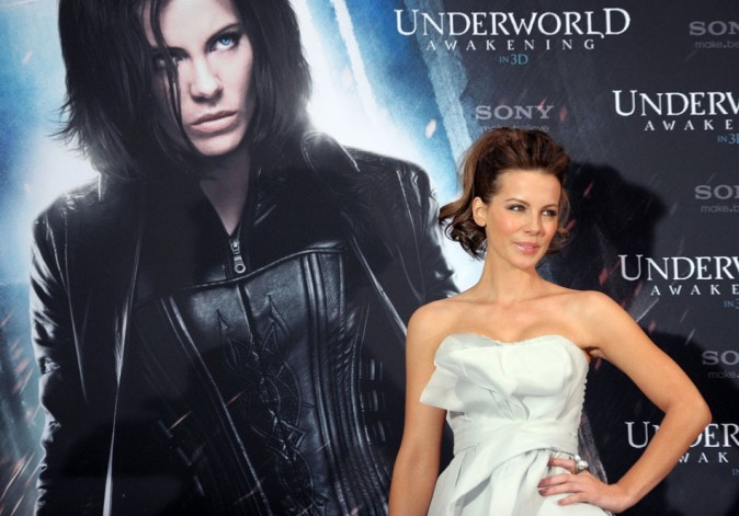 Kate Beckinsale n'a pas grand-chose à voir avec son personnage dans Underworld !
