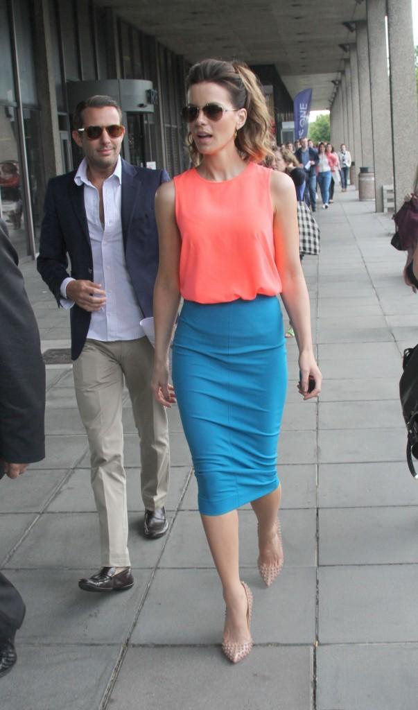 Kate Beckinsale, Dublin, 14 août 2012.