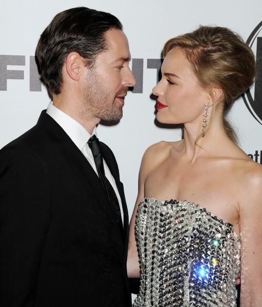 """Kate Bosworth et Michael Polish lors de la première de """"Homefront"""" à Las Vegas, le 20 novembre 2013."""