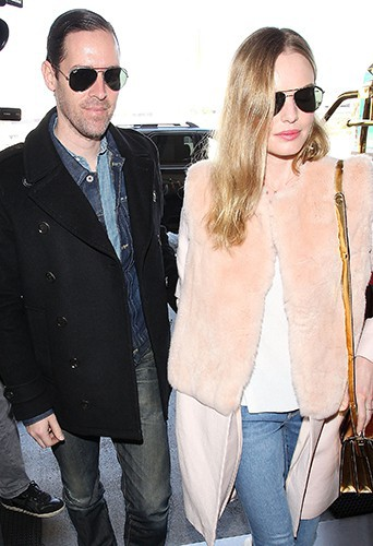 Michael Polish et Kate Bosworth à Los Angeles le 10 février 2014