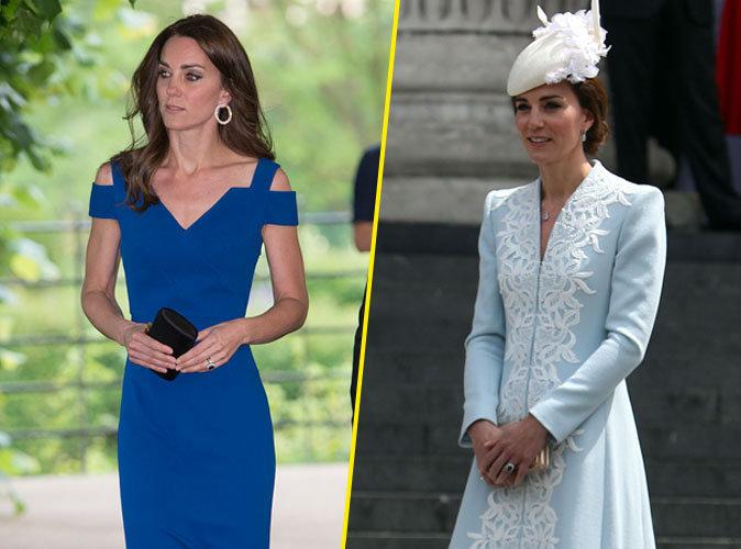 Photos : Kate de Cambridge : elle décline son élégance sur plusieurs bleus !