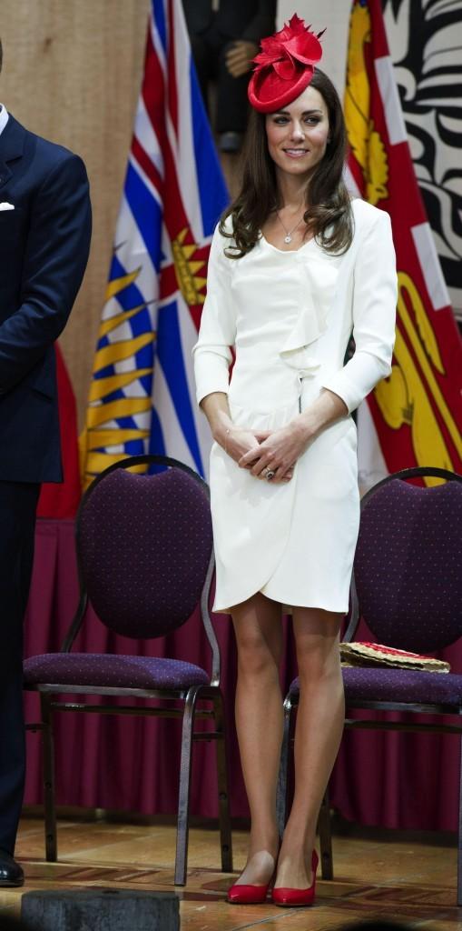Elle ressemble presque à un drapeau quand elle se tient comme ça !