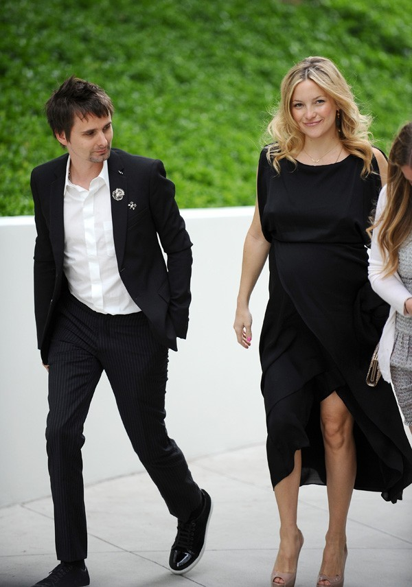 Au top du glam', avec son chéri Matt Bellamy