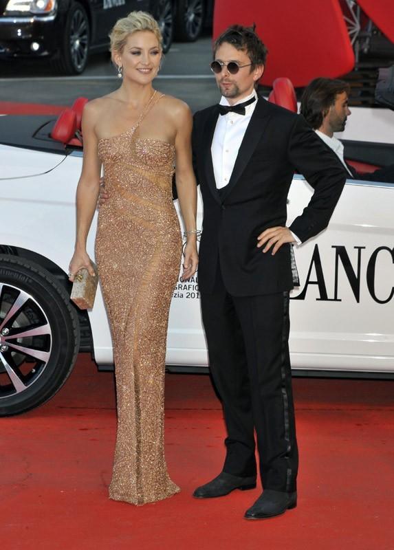 Kate Hudson et Matthew Bellamy à la Mostra de Venise