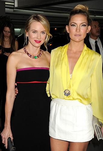 Naomi Watts et Kate Hudson à Los Angeles le 25 février 2014