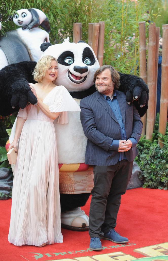 Kate Hudson et Jack Black : délurés à la première de Kung Fu Panda 3 !