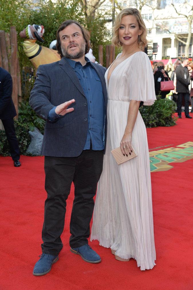 Kate Hudson et Jack Black, sur leur 31 à la première de Kung Fu Panda 3