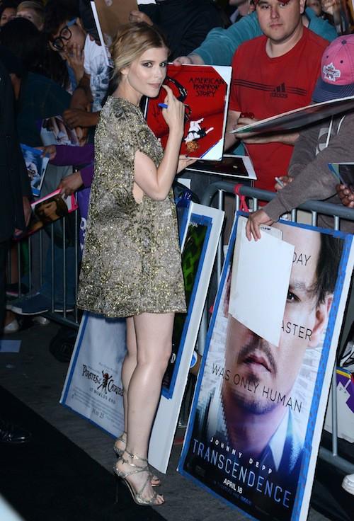 Photos : Kate Mara : De House of Cards aux tapis rouges, elle reste toujours espiègle !