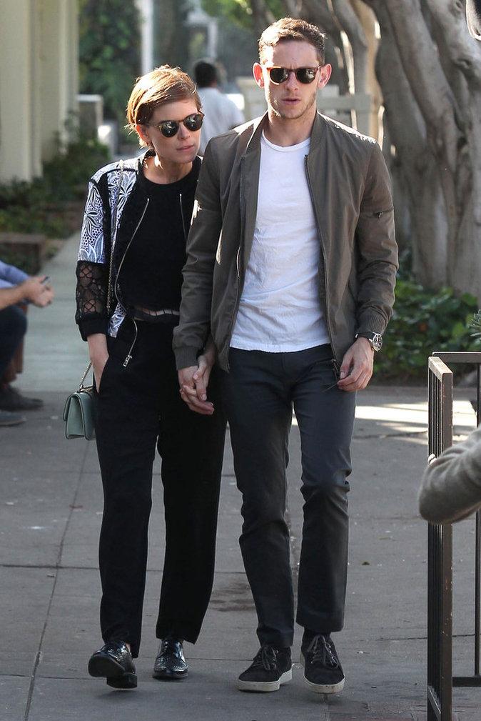 Photos : Kate Mara roucoule avec Jamie Bell pour son anniversaire !