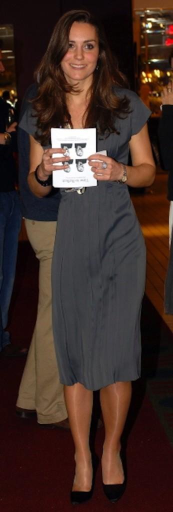 Kate Middleton le 28 novebre 2007