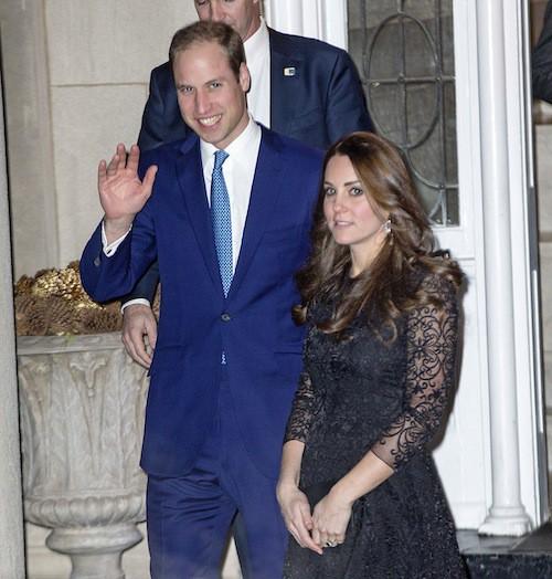 Photos : Kate Middleton : à peine arrivé à New York, son baby bump déjà scruté !