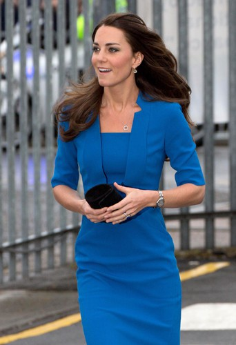 Kate Middleton à Londres le 14 février 2014