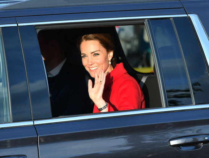 Kate de Cambridge à Whitehorse au Canada, le 28 septembre 2016