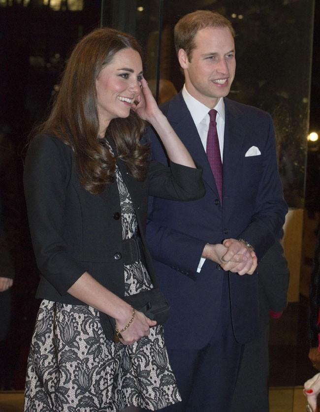 Avec son prince charmant...