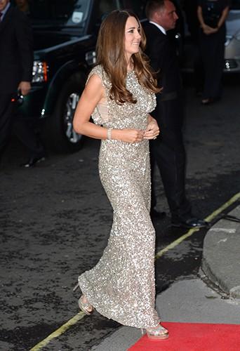 Kate et William de Cambridge à Londres le 12 septembre 2013