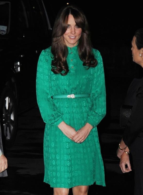 Kate Middleton, quelques jours avant l'annonce de sa grossesse !