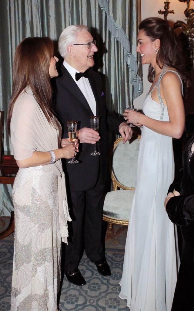Kate Middleton lors d'une soirée caritative à Londres, le 26 octobre 2011.
