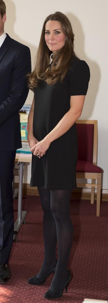 Kate Middleton et le Prince William en l'association Child Bereavement UK à Saunderton le 19 mars 2013
