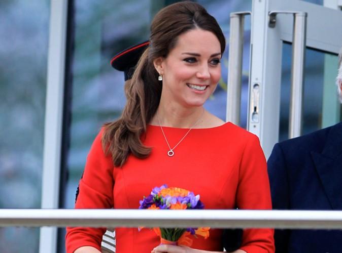 Kate Middleton : elle passe à la couleur pour camoufler son petit ventre !