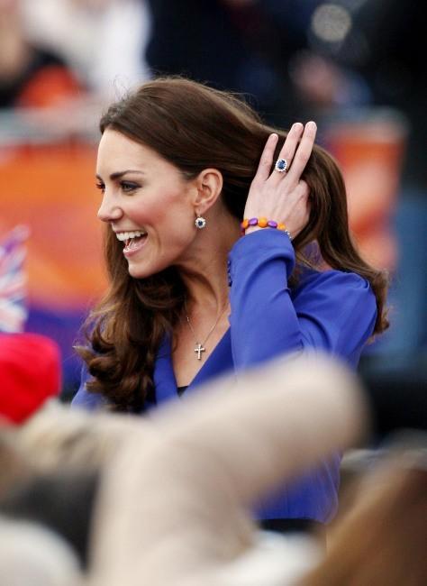 Kate Middleton à Ipswich dans la région de Suffolk en Angleterre, le 19 mars 2012.