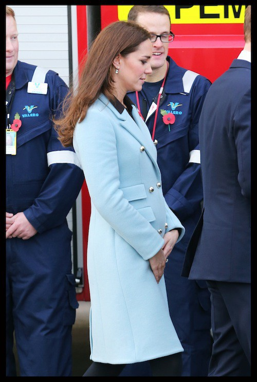 Photos : Kate Middleton : elle voit la vie en bleu…