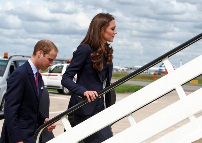 Kate Middleton et le prince William prêts à s'envoler vers le Canada !