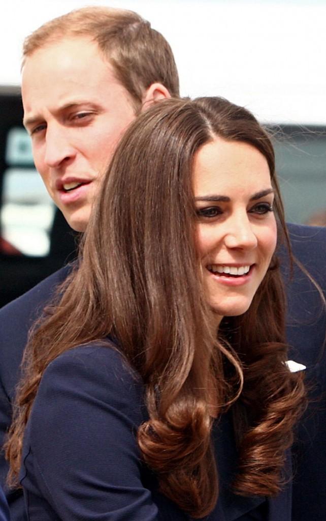 Kate Middleton et son mari le prince William !